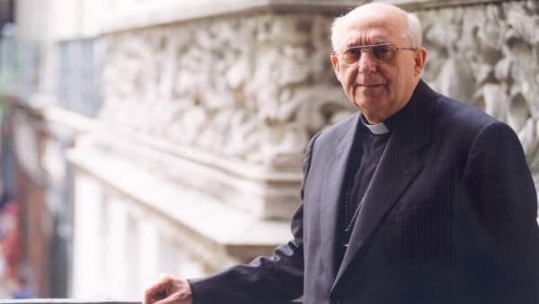 El obispo emérito de Girona Jaume Camprodón (1926-2016)