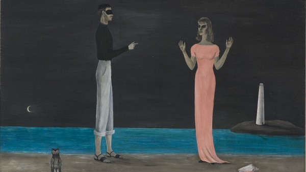Gertrude Abercrombie, The Courtship, 1949
