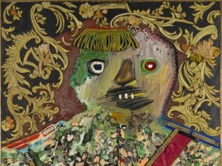 Enrico Baj, Le General Mechant et Decore (Angry General with Decorations), 1961