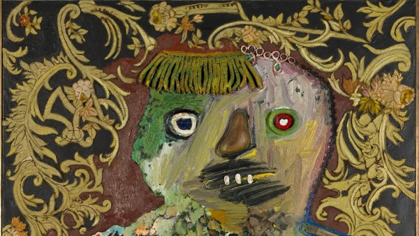 Enrico Baj, Le General Mechant et Decore (Angry General with Decorations), 1961
