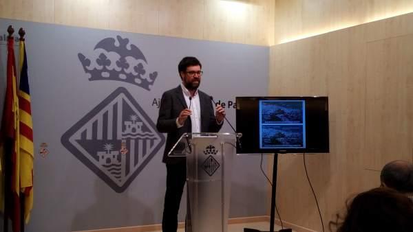 Antoni Noguera presenta el proyecto europeo Cooling line green para Sa Riera