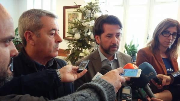 Aurelio Abreu y Carlos Alonso