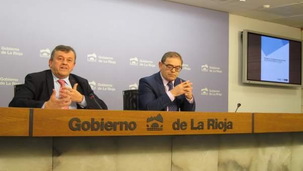 Rábade y Acitores informan de las listas de espera en La Rioja