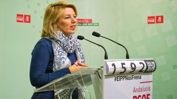 La diputada del PSOE Sonia Ferrer