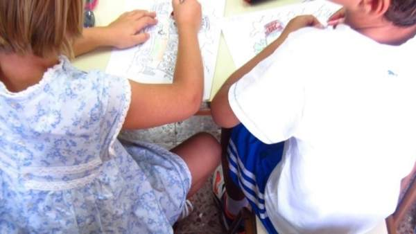 Imagen de archivo de alumnos