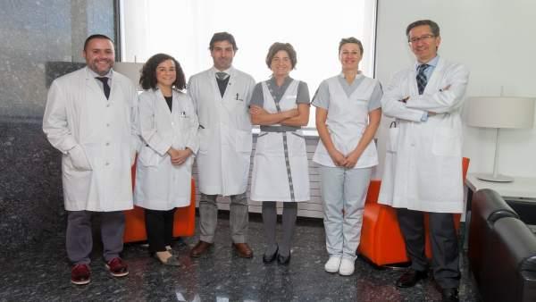 Especialistas de la Universidad de Navarra.