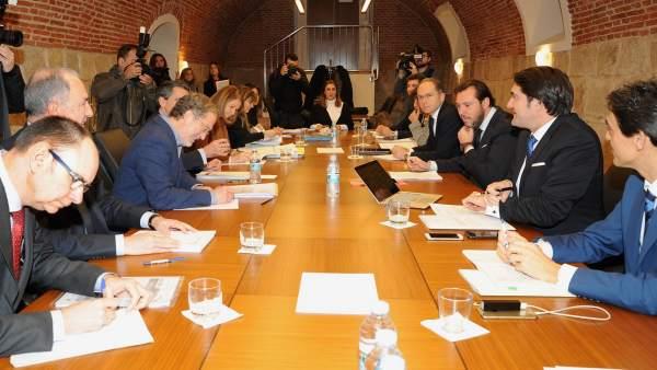Reunión de la Sociedad Valladolid Alta Velocidad