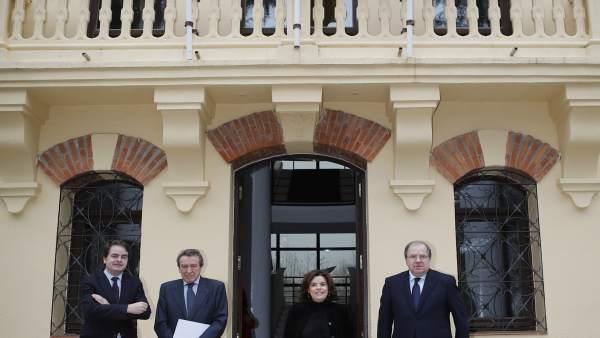 Bermúdez, De Santiago-Juarez, la vicepresidenta y Herrera