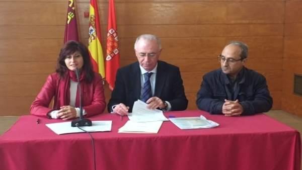 Imagen de la presentación de la firma del convenio