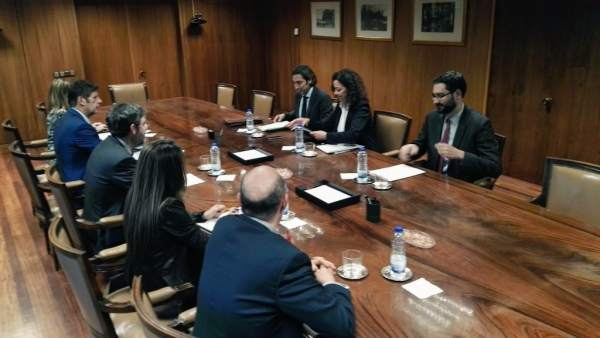Cladera se reúne en Madrid con Collado y Nadal para tratar los PGE 2017