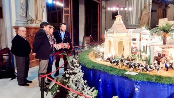 Visita el belén en el Conjunto Monumental de San Juan de Dios