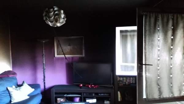 Imagen de la vivienda en la que se ha originado el fuego