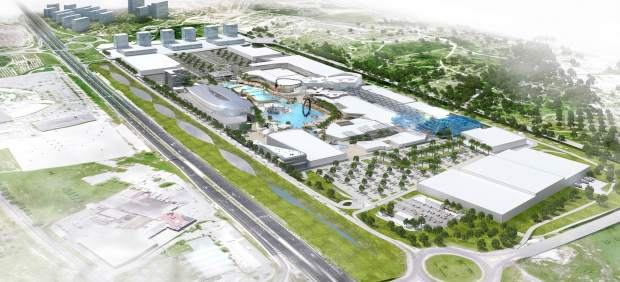 Imagen del proyecto de centro comercial y de ocio Puerto Mediterráneo