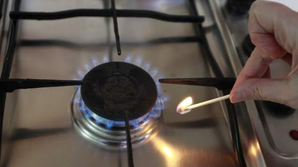 La demanda de gas natural bate r cord desde 2012 en plena for Cocinas de gas ciudad