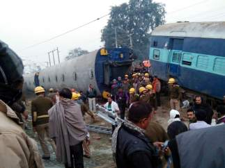 Accidente de tren en la India
