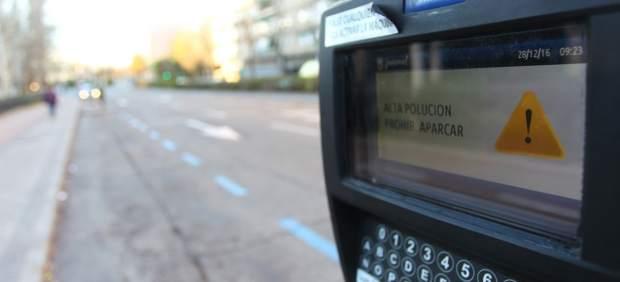 Restricciones de aparcamiento en Madrid