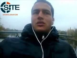 Anis Amri en un vídeo de Estado Islámico