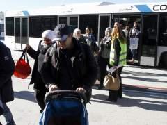 Llegada de refugiados