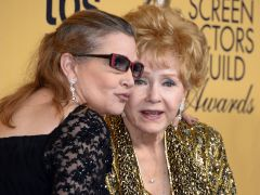 Hollywood rinde tributo a Carrie Fisher y Debbie Reynolds