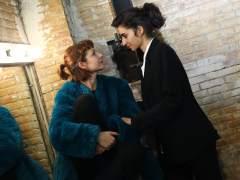Najwa Nimri y Alba Flores