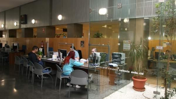 La crisis destruye puestos de trabajo en una d cada for Oficinas servef valencia