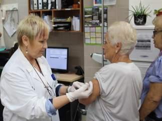 Vacunación gripe.