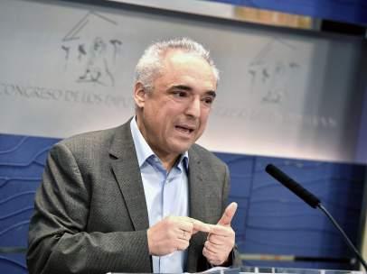 Rueda de prensa de Rafael Simancas
