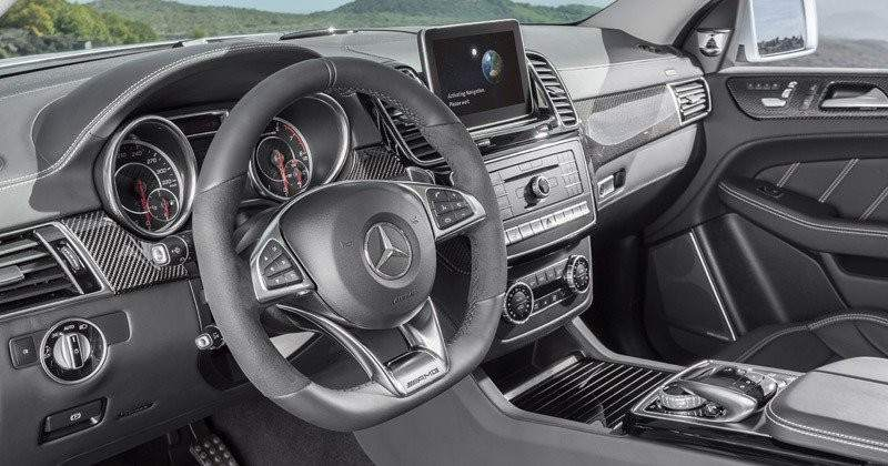 Aspecto interior del Mercedes-Benz GLE Coupé