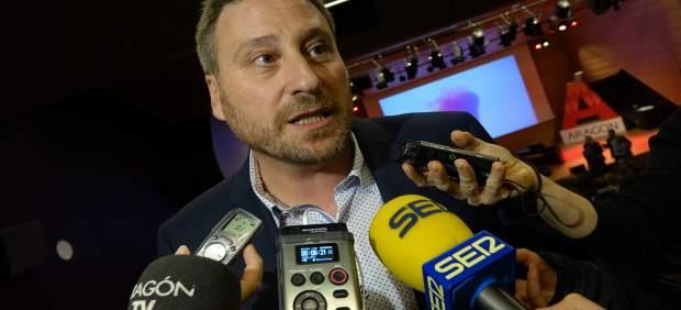 José Luis Soro en la Gala de Premios a la Mejor Experiencia Turística aragonesa.