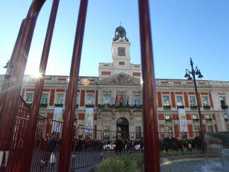 La Puerta del Sol vallada