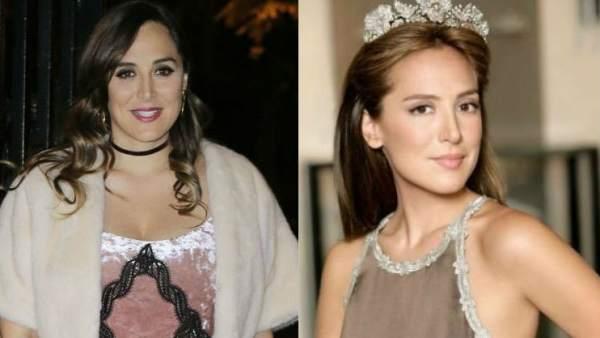 Tamara Falcó, antes y después