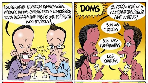 Nochevieja en Podemos