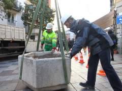 Interior ordena reinstalar maceteros antiatentados en Madrid
