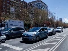 Un corte eléctrico interrumpe el tráfico en el túnel de María de Molina