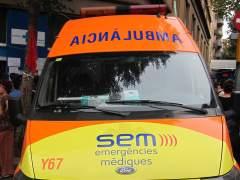 Una mujer muere atropellada por una hormigonera en Barcelona