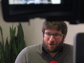 Miguel Urbán, representante de Anticapitalistas y eurodiputado de Podemos