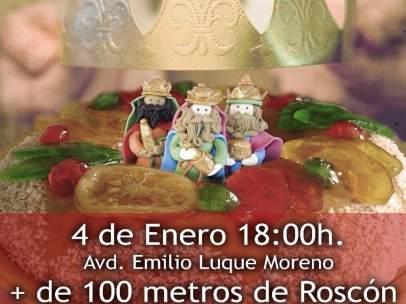 Cartel del Gran Roscón de Reyes
