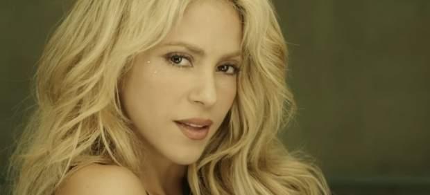Shakira en su videoclip Chantaje