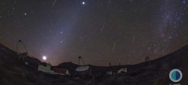 Lluvia de meteoros Gemínidas