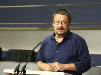 Xavier Domènech, portavoz de En Comú Podem.
