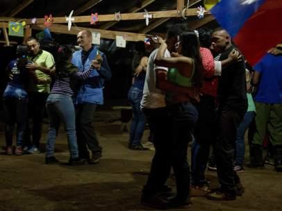Nochevieja guerrilleros FARC