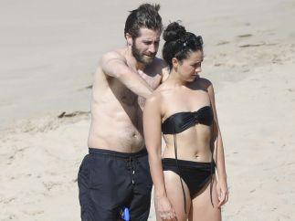 Famosos que se bañan en la playa por Año Nuevo