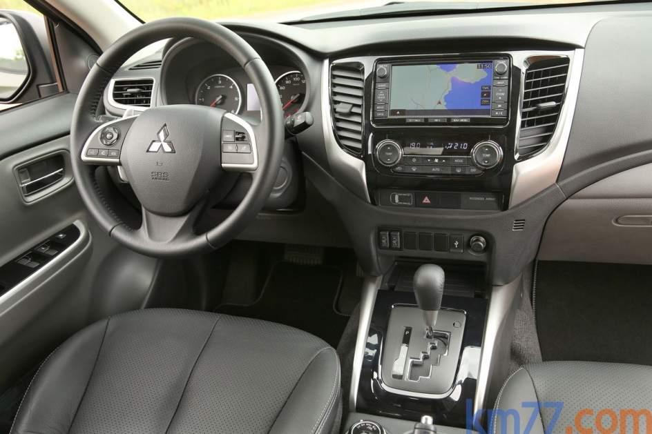 Aspecto interior del Mitsubishi L200