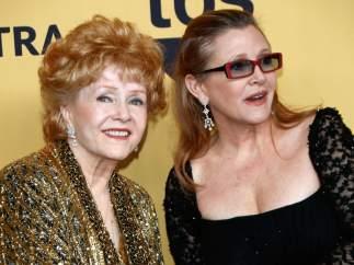 Debbie Reynolds y Carrie Fisher