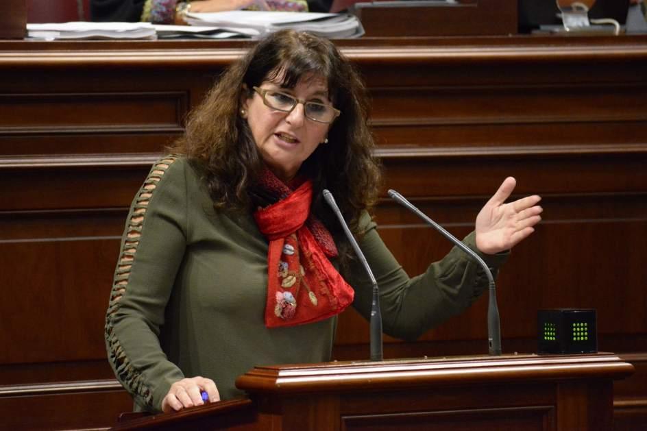 Resultado de imagen de diputada de Podemos, Concepción Monzón