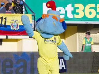 Groguet, la mascota del Villarreal