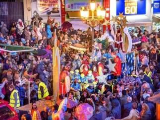Cabalgata de los Reyes Magos de Torremolinos.