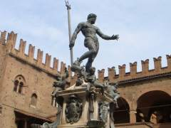 Estatua de Neptuno en Bolonia