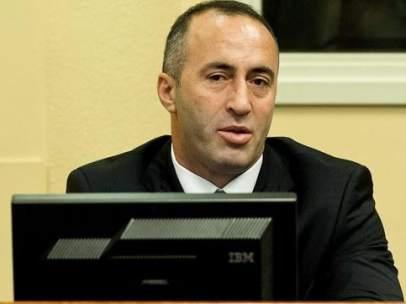 El ex primer ministro de Kosovo, Ramush Haradinaj