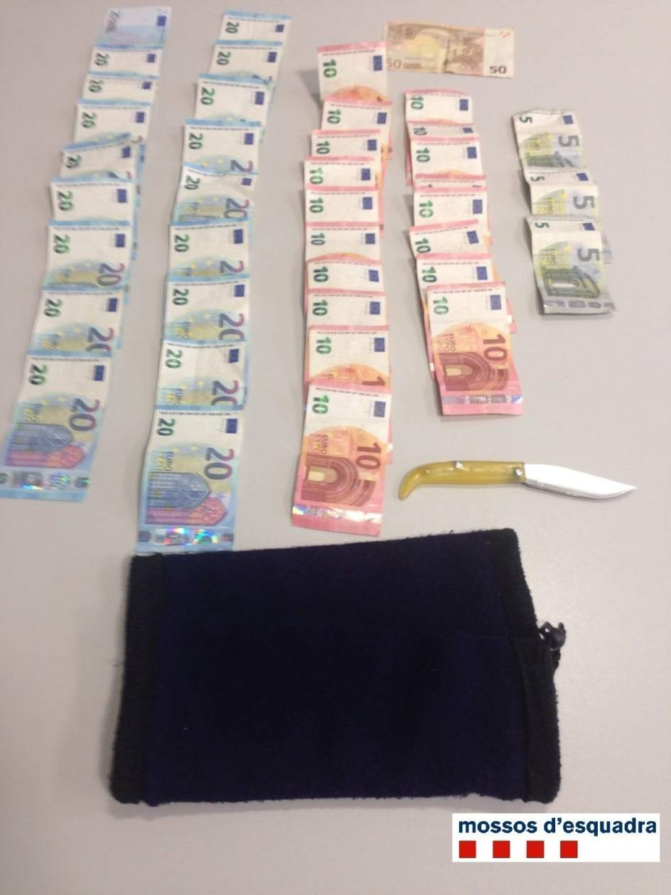 Los mossos detienen a un atracador de una oficina bancaria for Oficina empleo lleida